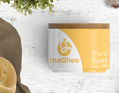 maGhee - Logo and Packaging Design