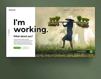 Agriculture Website Done Different