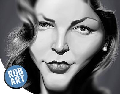 Celebrity Sunday - Lauren Bacall