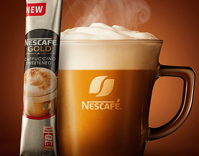 Nescafe Gold flavored