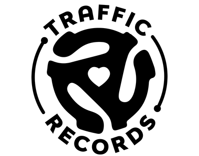 Traffic Records T-shirt Logo Design