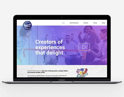 Maverick Warehouse Wordpress Website