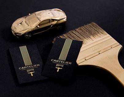 CARTELIER Auto Detailing Studio | Branding