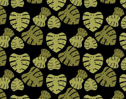 Pattern Design: Monstera deliciosa