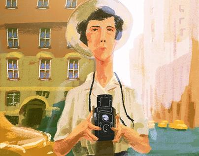 Vivian Maier - Illustration
