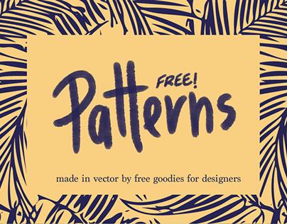 15 FREE FRESH COLORFUL PATTERNS