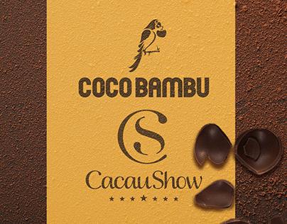 Caixa Ovo de Páscoa Coco Bambu + Cacau Show