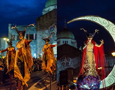 Macnas 2016 - street performance in Galway, Ireland