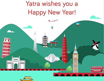 Yatra year end review 2017 -18 & New Year