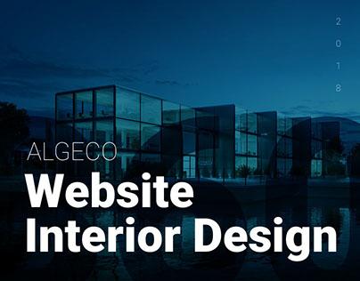 ALGECO – Website Interior Design
