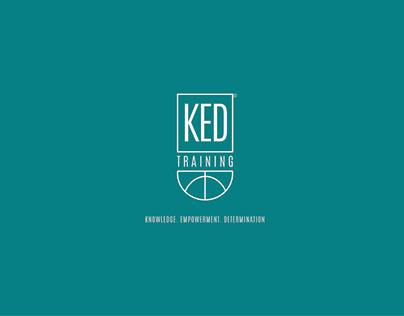 KED - Basketball Institution Logo + Branding