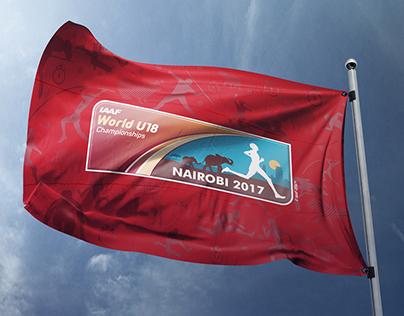IAAF W U18 Nairobi - 2017 branded Items