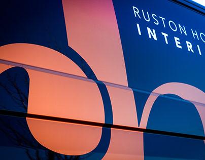Ruston House Interiors Van Graphics