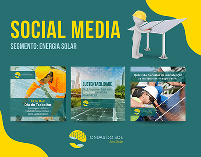 Social Media - Energia Solar