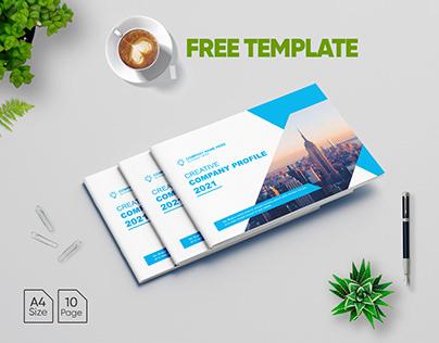 Landscape Brochure FREE TEMPLATE - Company Profile