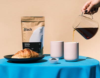 Black — identity for coffee brand