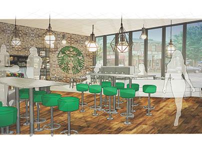 Starbucks Multi-Purpose Campus Cafe