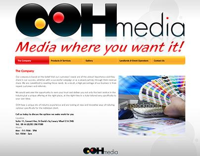 OOH Media group - website design - Archives...
