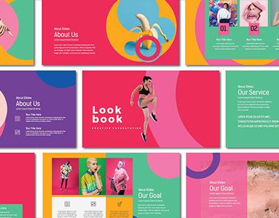 Free Lookbook Pastel Presentation Template