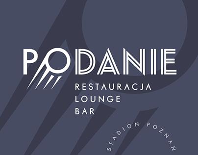 PODANIE restaurant lounge bar at City Stadium in Poznań