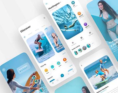 Surf App | Summer Surfing | Surfboard