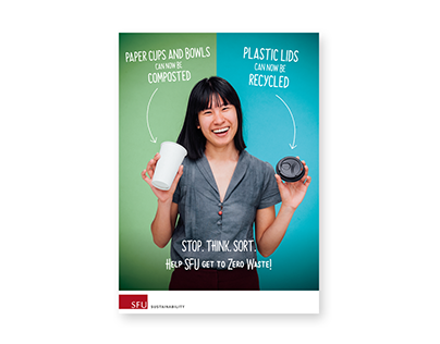 SFU Zero Waste Poster