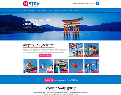 Metro - projekt WWW