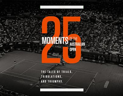 25 Moments of the Australian Open