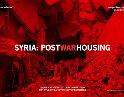 SYRIA: POST WAR HOUSING