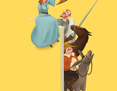 Don Quixote, ELI Readers