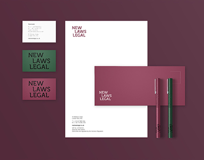 New Laws Legal: Identity & Website