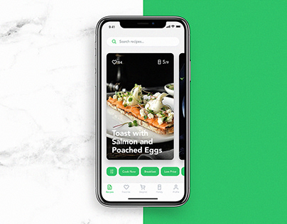 Mobile UI Design: Perfect Recipes App