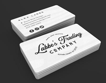 Labbe's Trading Co. Rebrand