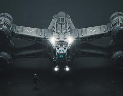 Scifi Ship Design - Process Tutorial
