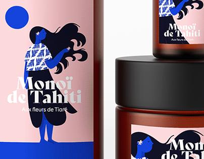 Monoï de Tahiti — Packaging