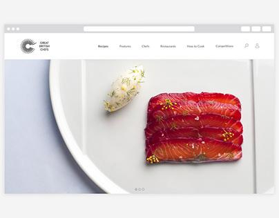 Great British Chefs website redesign
