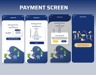 Google Payment Details UI UX