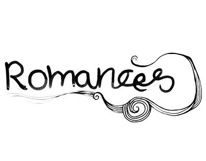 Romances Hand Drawing Logo