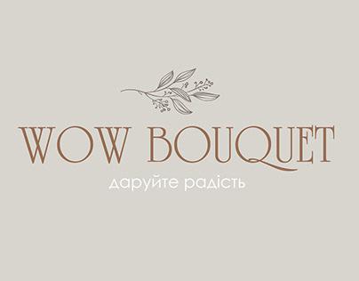 Wow Bouquet. Flower studio design