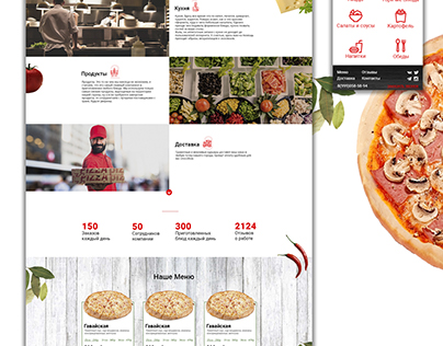 Express Pizza Design