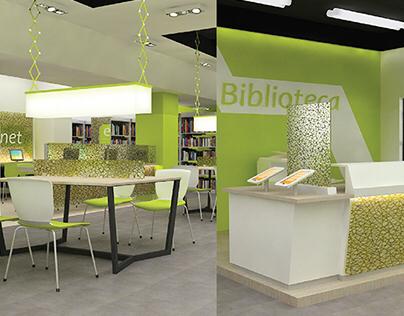 Combarranquilla, Library
