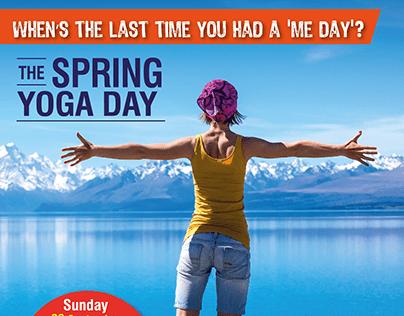 Yoga Spring day