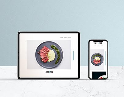 Nimbus: Modern American Restaurant Branding