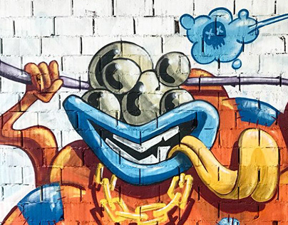 Some of my graffiti works in 2018