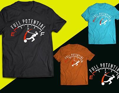 Full Potential t shirt design or Logo