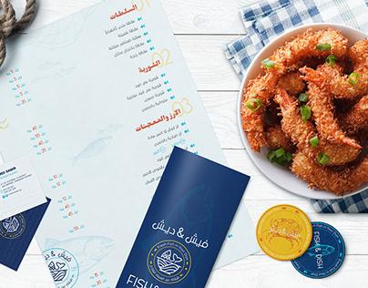 Fish & Dish Restaurant - Visual Brand Identity