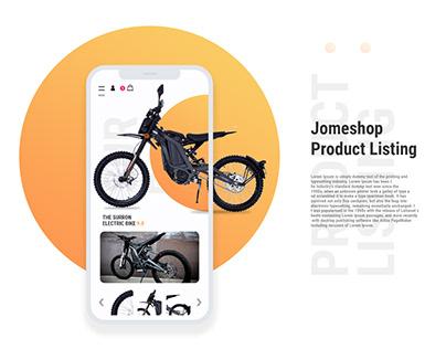 Personalized eCommerce App Design