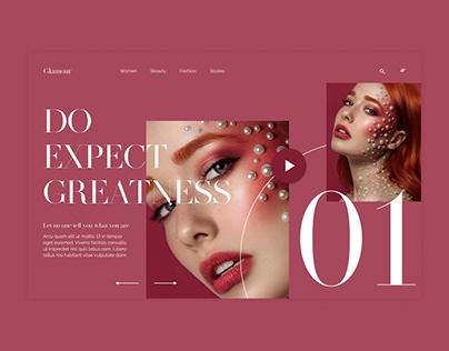 Website Design Glamour