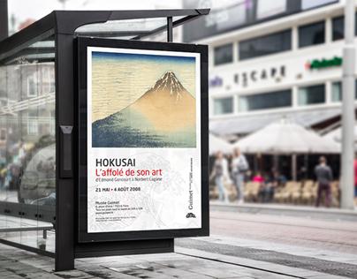 """Museum Guimet Hokusaï """"L'Affolé de son"""