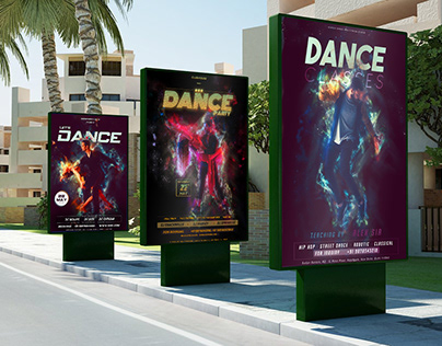 Dance Party Ad Flyer | Dance Party Poster